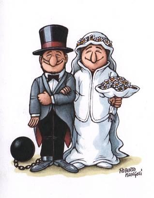 catene,amore, matrimonio, divertenti, spiritose, umorismo, legame, marito, moglie, sposi, sposini, oggi sposi