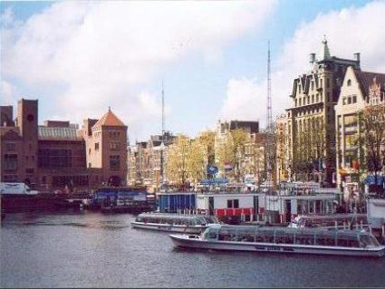 paesi bassi, olanda, livello acqua, simile, venezia, canali, città, biciclette, battelli, vapore, palazzi, storia, florida