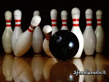 corsie, birilli, palla, peso, presa, rotazione, strike, stendere, buttare giù, far cadere