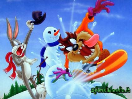 snow, neve, felici, pazzi, sciare, snowboard, amici, fresca, bianca, monti, albero, pupazzo di neve