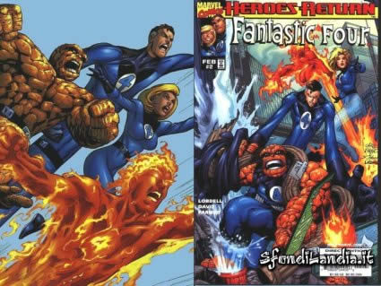 fantastic, four, 4, Mr. Fantastic, La Donna Invisibile, La Cosa, La Torcia Umana, marvel