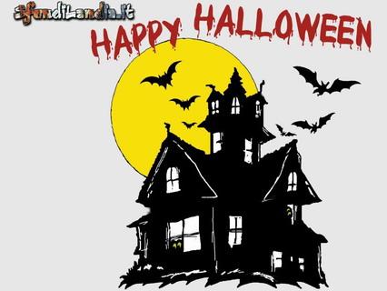 casa, fantasmi, halloween, paura, spavento