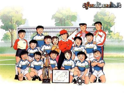 cartone, mito, calcio, giappone, team, campo, puntate, mille, partire, lunghissime, campioni, del, cuore, nazionale, crescere, insieme