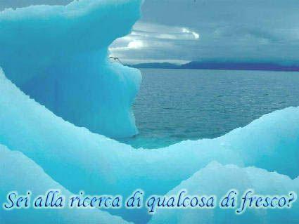 fresco, dopo, grande caldo, cercare, iceberg, famosi, ghiaccio, per urto titanic, blocchi, montagne, acqua, geleta
