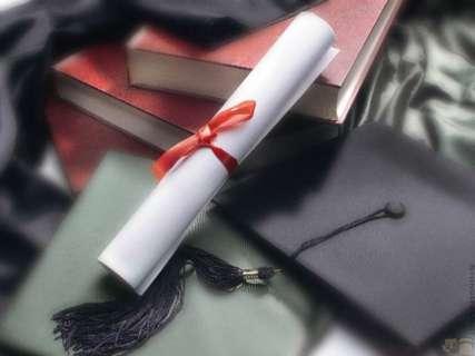 laureato, neo laureato, pergamena, diploma, toga