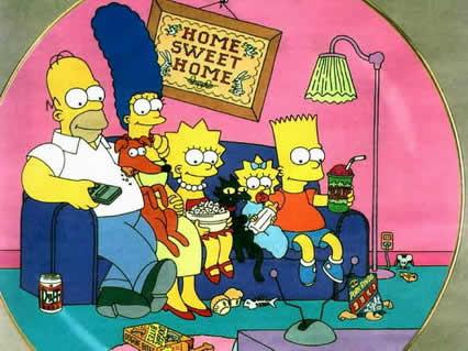 simpson, simpsons, family, famiglia, lisa, bart, homer, marge, cartoni, irriverenti, gialli