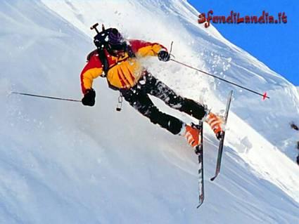 sciare, sciatore, porta, paletti, slalom, gigante, neve, scendere, discesa, libera, traguardo, arrivo, inforcare, eliminato, tempo, curve
