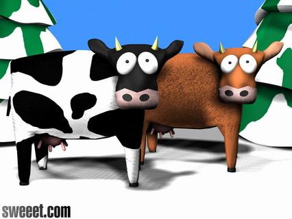 south park, mucche, cartoni