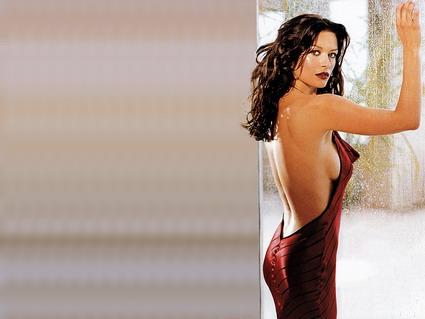 Catherine Zeta-Jones, bellissima, entrapment,attrice