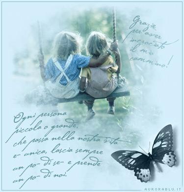 cartoline amica, amici strada comune, stesse sensazioni, condividere gioie, rapporti, felicità , fasi brutte, appoggio morale