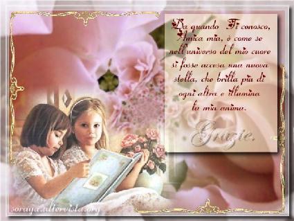 cartoline amicizia, incontro anima, posto, guida, seguire, consiglio, sfogo, appoggio, divertire, unire