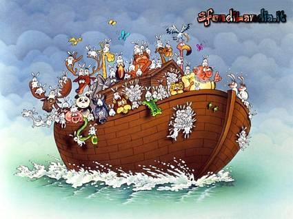 storica, bibbia, diluvio, universale, salvare, famiglia, noe, figli, moglie, seprenti, aquila reale, gatto, topo, elefante, liocorni, coccodrilli