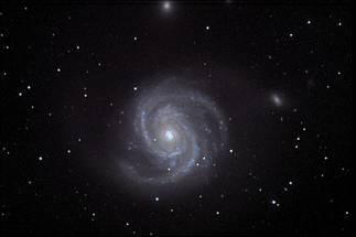 spirale, circolo, stelle, intorno, nero, buio, scatto, telescopio, osservazione, osservare, fotografare