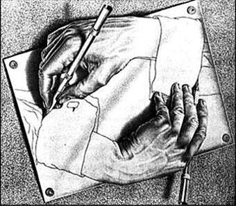 illusione, disegno, ottica, sovrapposto, penna, tratto