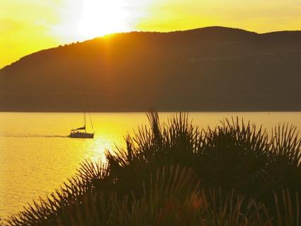 cartoline tramonti, mare, estive, colori, sole, amore al tramonto