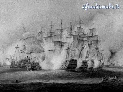 scontro, navi, guerra, fuoco, cannoni, ammainare, conquista, veliero, vele, albero, maestro, pirati, affondare, presa