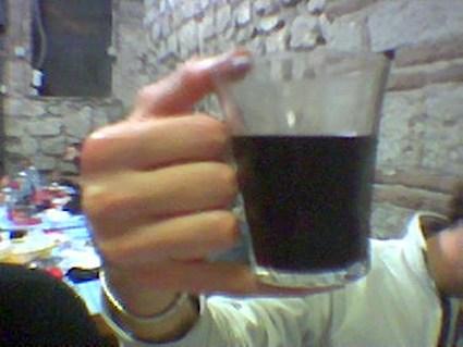 modo, strano, bere, vino, presa, insegnamento, sceriffo, ariccia, impugnatura, particolare, via uccelliera, fraschetta