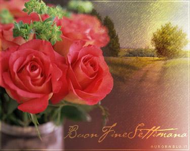 cartoline buon fine settimana, augurare buon weekend, relax, gita, festa, parenti, campagna