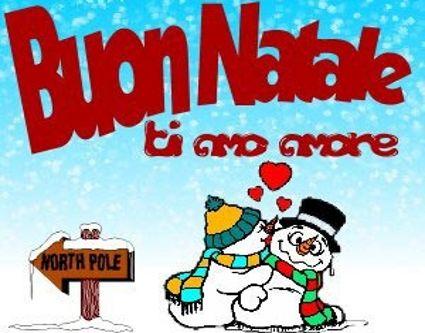 Invia Buon Natale Amore Come Cartolina Su Facebook E Whatsapp