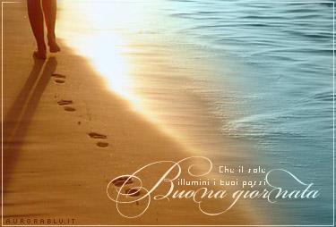 cartoline buongiorno, che il sole illumini i tuoi passi, augurio, buon di, risveglio