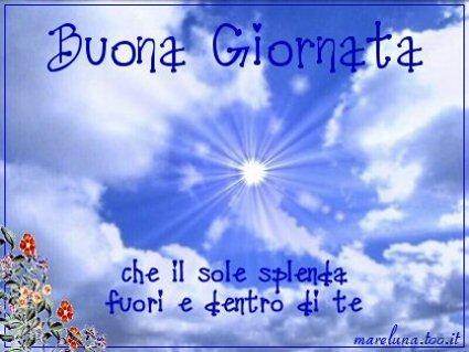 Invia Buona Giornata Di Sole Come Cartolina Su Facebook E