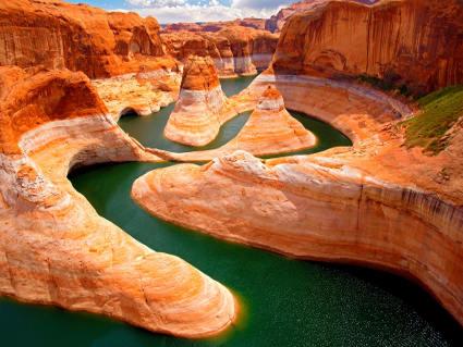 roccia, terra, rosso, sabbia, cultura, fiume, deserto