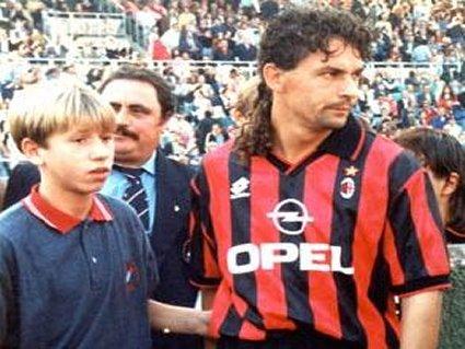 Cassano, Baggio Roberto, Milan, Roma, Brescia, Bari  vecchia