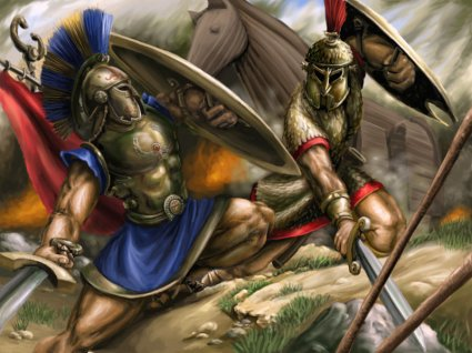 cavallo di troia, iliade, sfida, achille, ettore, ilio, elena, paride, priamo, teti, sfida, omero, leggenda, verità