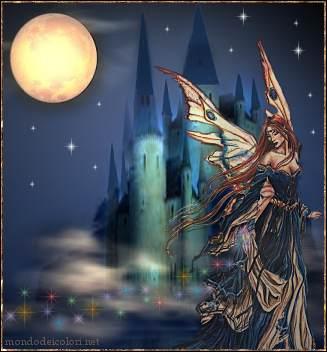 fate, fantasia, luna, notte, passo, scappare, sogni, realtà