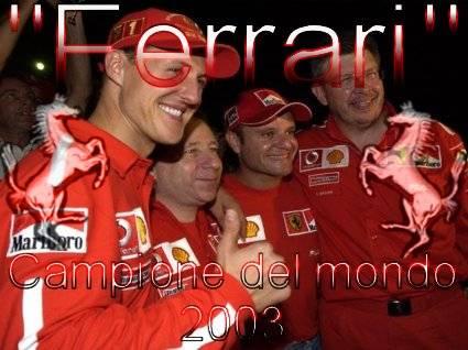 ferrari, Michael, Schumacher, barrichello, festa