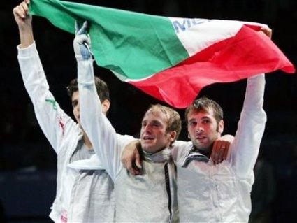 cartoline festa squadra, italiana, vittoria, finale, gradino, alto, podio