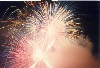 cartoline buon anno, gioco pirotecnico, bruciare, polveri, nuovo, anno, capodanno, festeggiare, buttare, roba, vecchia, napoletani, petardi, zeus, min