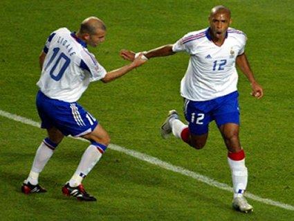 cartoline calcio, henry, zidane, gol, reti, realizzatori, goleador, marcatore
