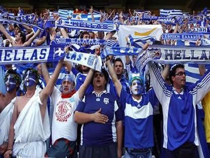 Grecia, girone, tifosi, curva