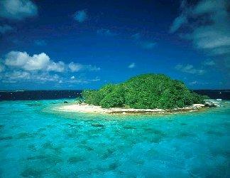 isola, isolare, isolata, atollo, coralli, flora, acqua, fantastica, tropici, paradiso