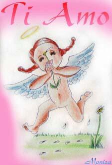 aureola, angelo, margherita, petali, m'ama non m'ama, felicità, l'ama