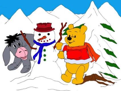 neve, pupazzi, freddo, temperatura, fredda, bassa, coperto, zero, gradi, sotto, cielo, compatto, acqua, ghiaccio