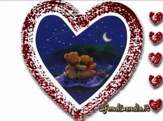 cartoline cielo, stellato, sguardo, sognante, innamorato, mille desideri, immagini