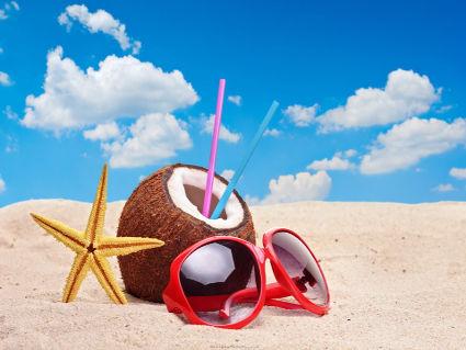 bagno, mare, arena, colori, occhiali, vacanza
