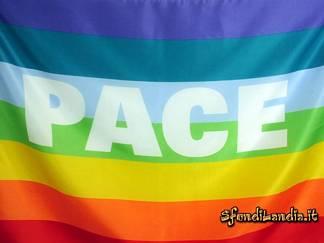 arcobaleno, colori, rosso, arancione, giallo, verde, azzurro, indaco, violetto, manifestazione