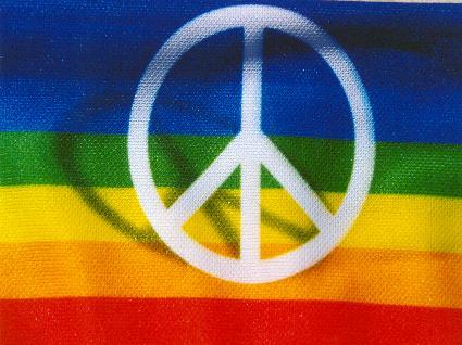 simboli, intenti, unione, sperare, cercare, camminare, per la pace, lavorare, aiutare