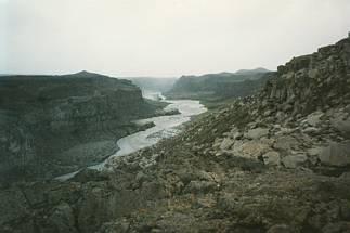 acqua, erosione, agente, erosivo, rompere, frantumare, erodere, rocce, roccia, torrente, fiume