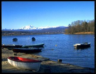 alveo, barche, pescatori, guado, guadare, canne, pesca, pesci, salire, corrente, rapide, monti, montanari, cespugli