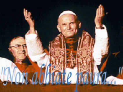 giovanni paolo II, 2, frasi, papa, pope, joannes, non abbiate paura, Papa, san pietro