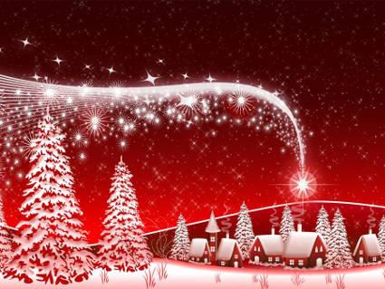 neve, fantasy, digital, natali, compagnia, focolare