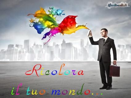 mondo, colorare, vita, divertimento, sentimenti, godere