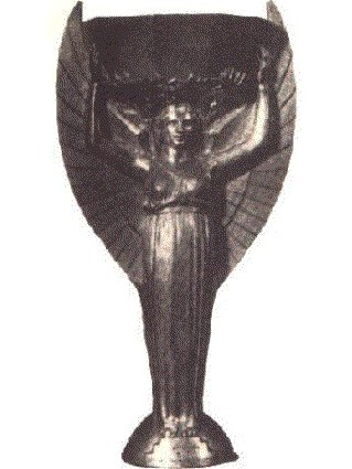 vecchia, antica, ex, coppa, mondiale, italia, due, 1930