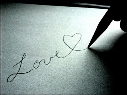 amore, love, stilografica, affetto, esprimere, sentire