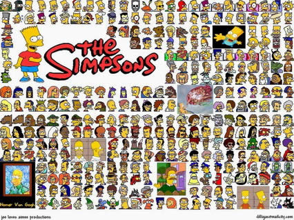 simpons, simpson, homer, omer, marge, bart, lisa