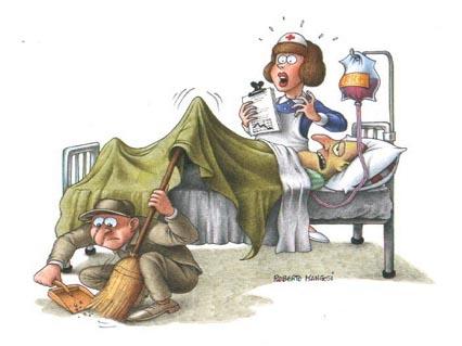 malato, pulizie, scherzo, involontario, infermiera, stupita, erezione, impossibile, moribondo, invece, bastone, manico scopa, pattumiera, croce, fle